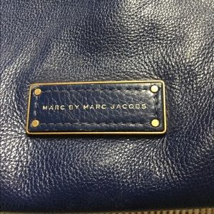 Marc By Marc Jacobs Bags - Blue leather Marc By Marc Jacobs shoulder bag